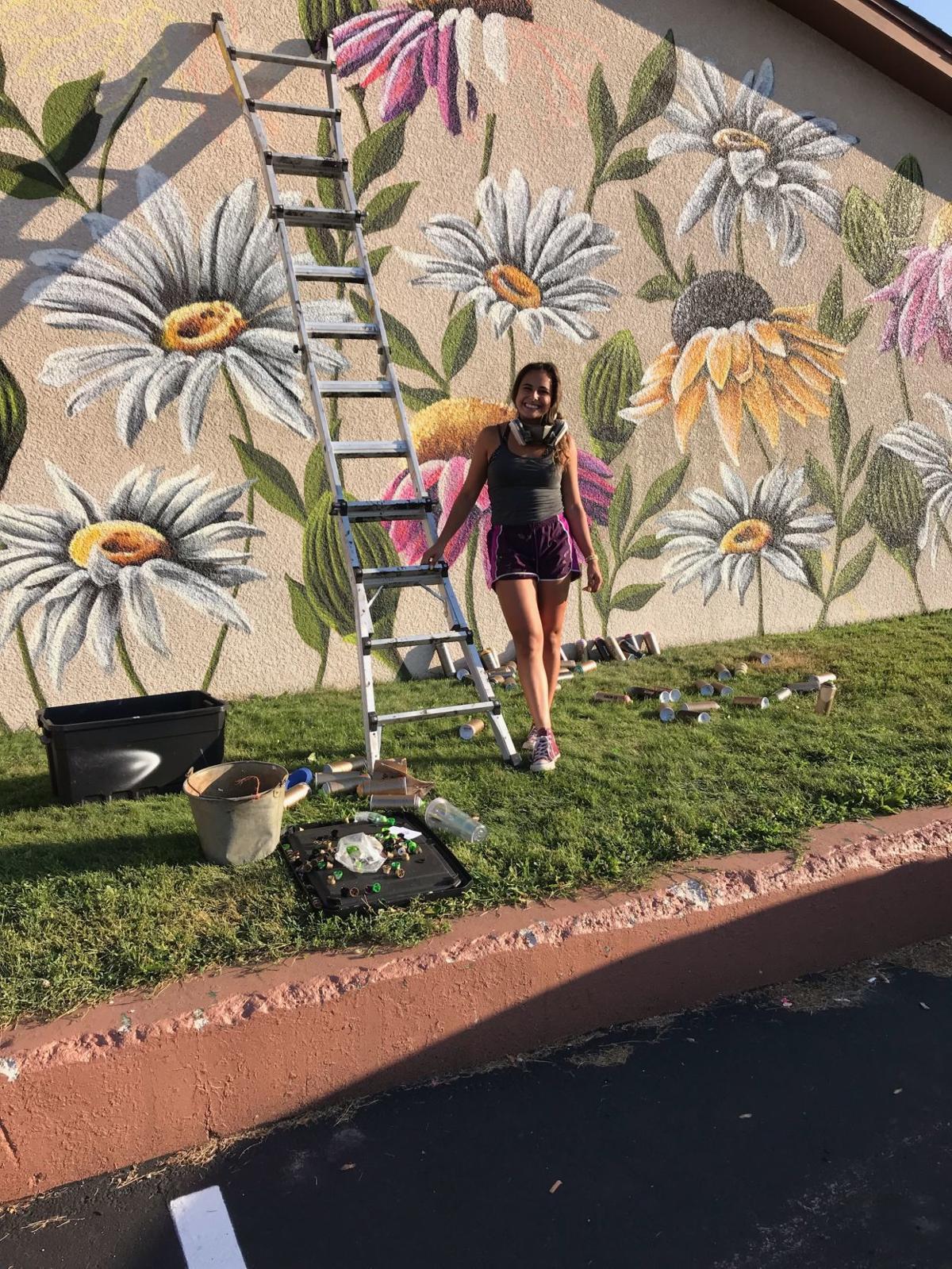 Wampach's floral scene