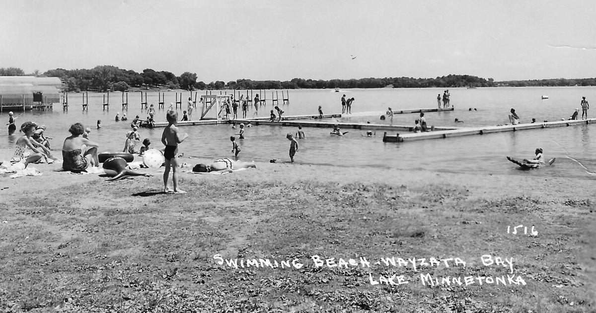 Wayzata Beach historic photo