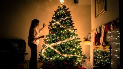 Christmas Tree Decorating Is A Family Tradition For Many But When You Only Have Two Ornaments And A Bag Piping Santa Claus Figurine The Task Can Seem