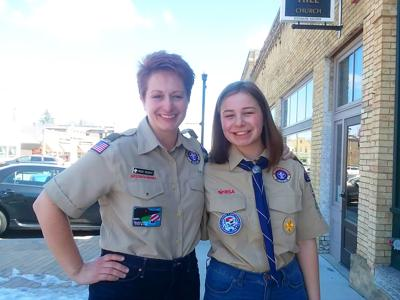 Heidi and Olivia Busch