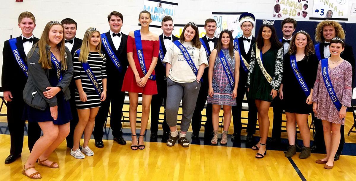 Chanhassen High School 2018 Homecoming Royalty
