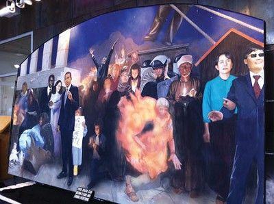 Mural celebrates 60th