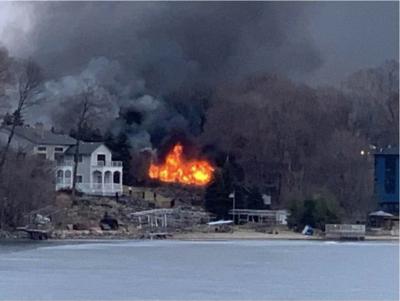 Edinborough Avenue fire engulfs Prior Lake home