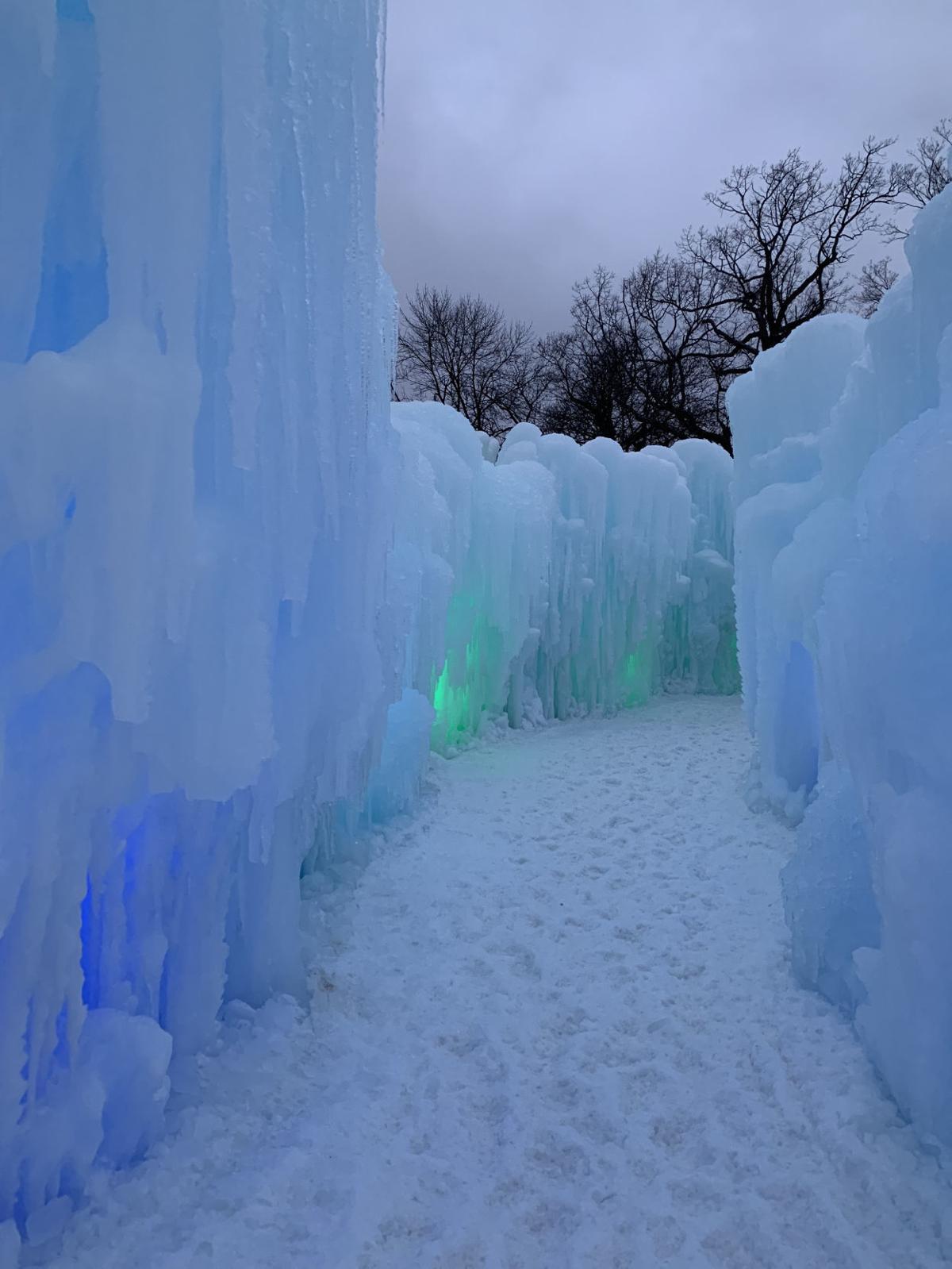 Ice Castles walls