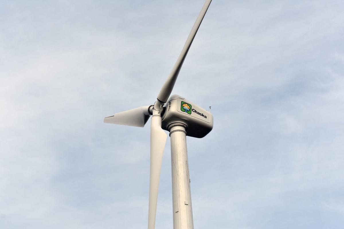 Chaska wind turbine