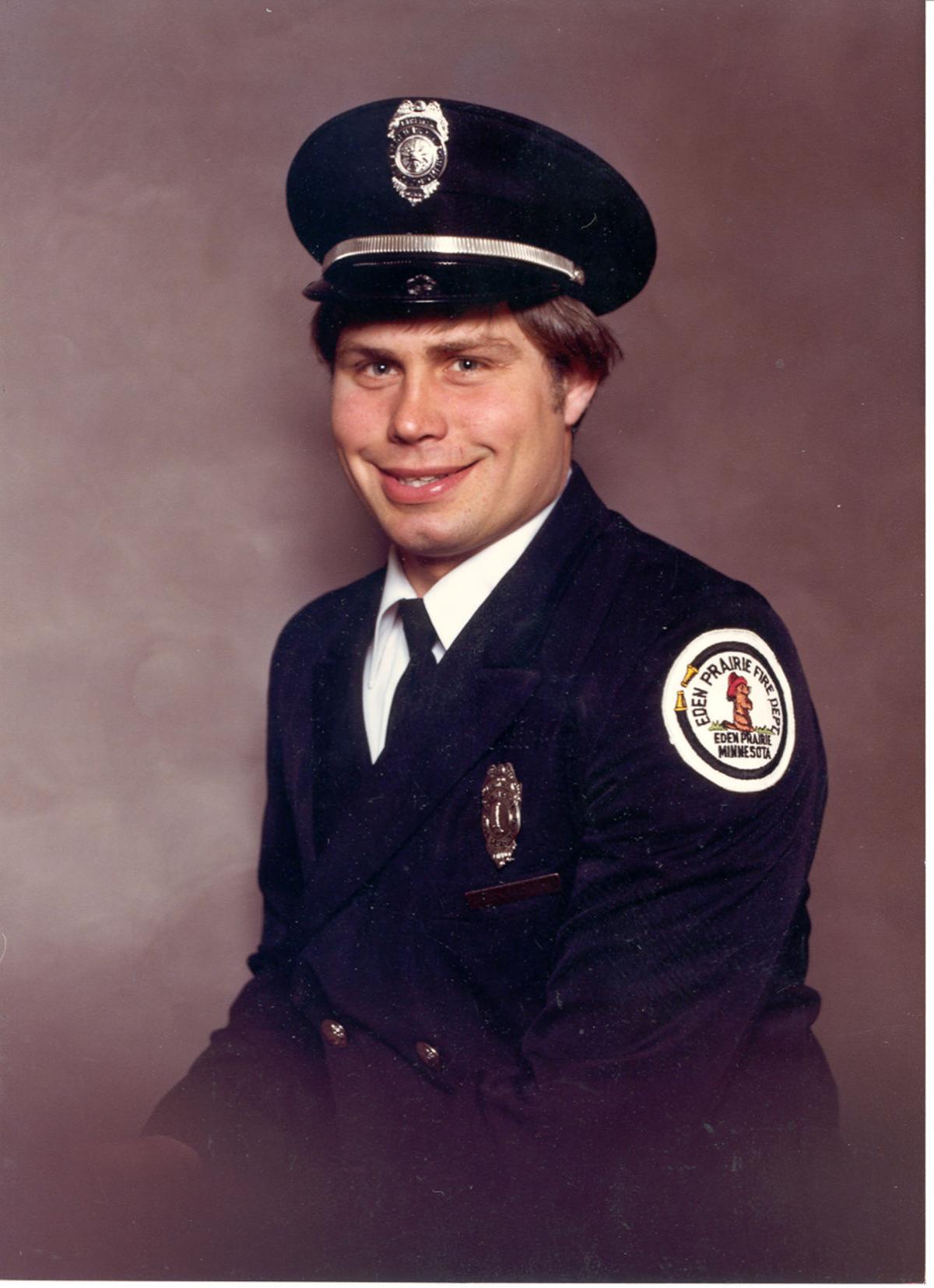 Chuck Schaitberger early firefighter days