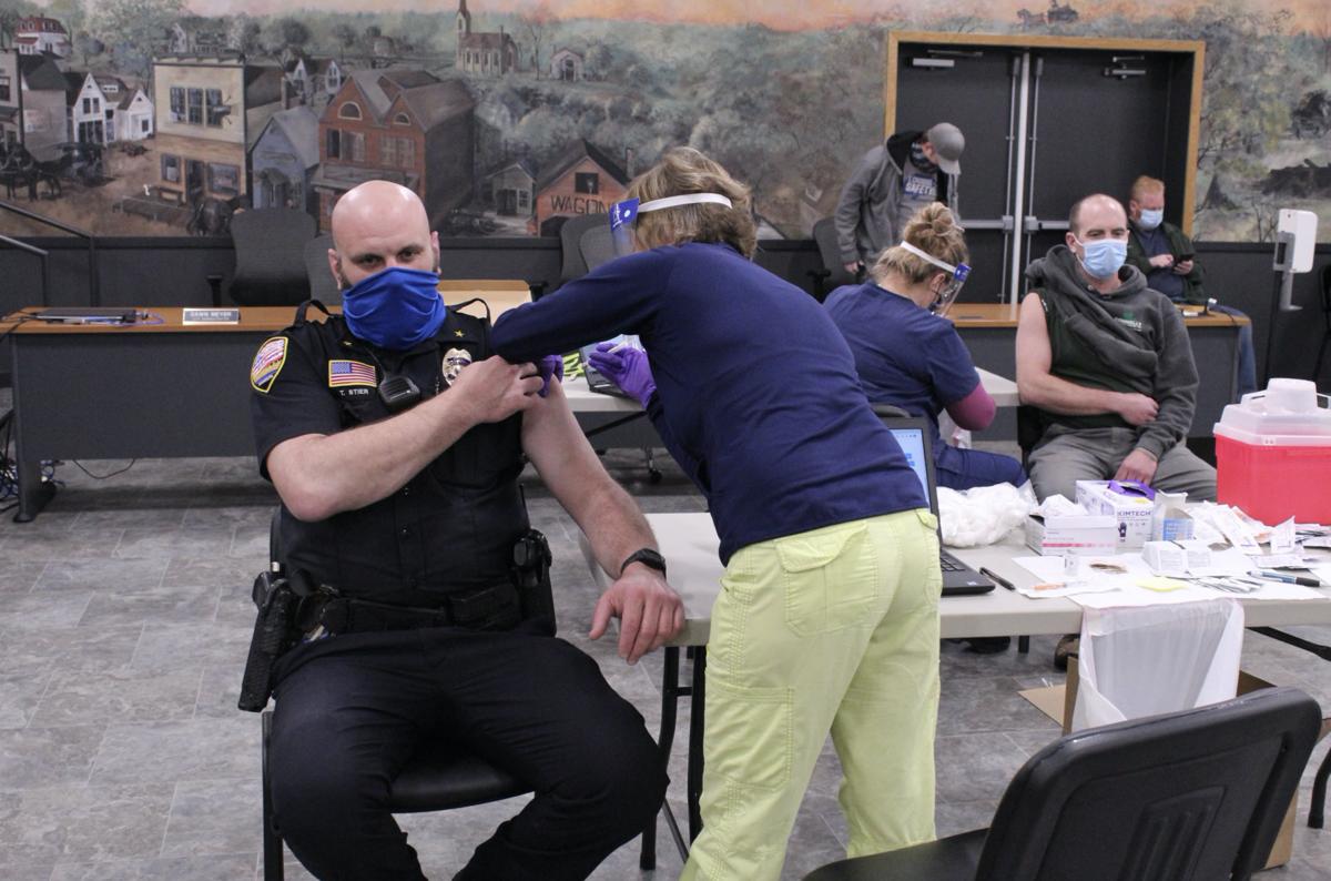 Belle Plaine vaccine clinic