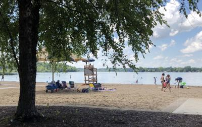 Lake Minnewasha beach