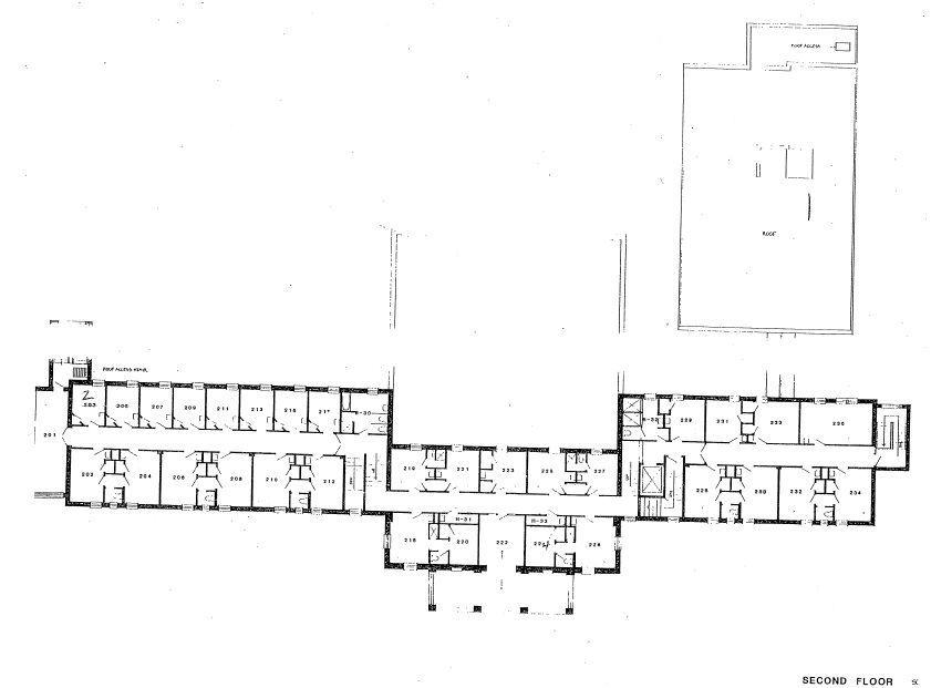 RTF second floor plan