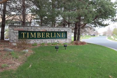Timberline sign