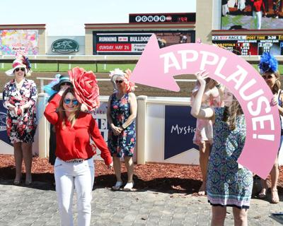 Canterbury Park hat contest Kentucky Derby