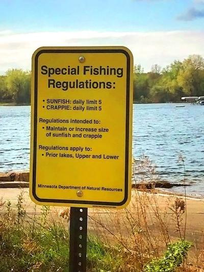 Panfish regulations