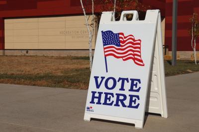 Jordan voting sign