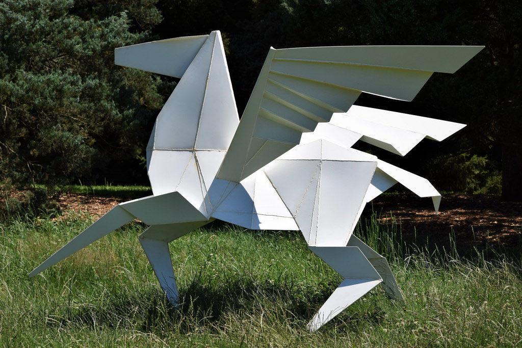 Metal Origami Bags : Zhong You and Weina Wu | 683x1024
