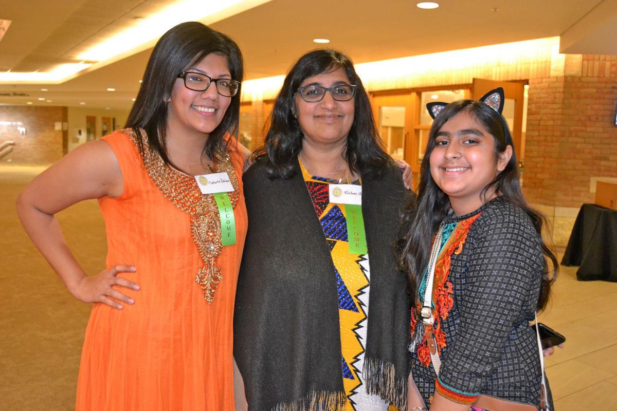 Natasha, Rishma, Anya