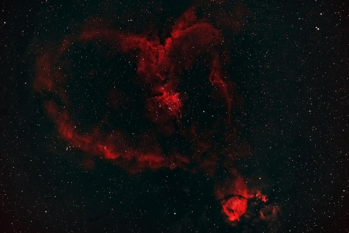 'Heart Nebula' by Michael Davis