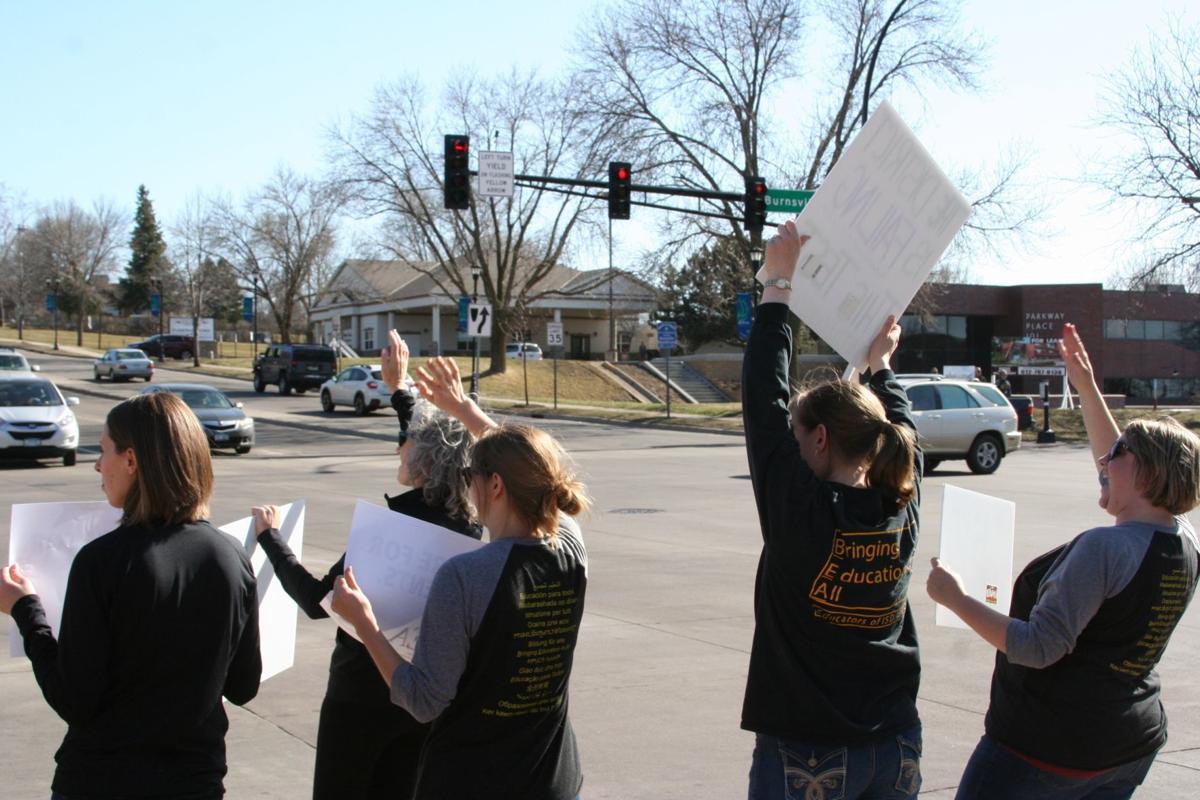 Burnsville-Eagan-Savage teachers protest