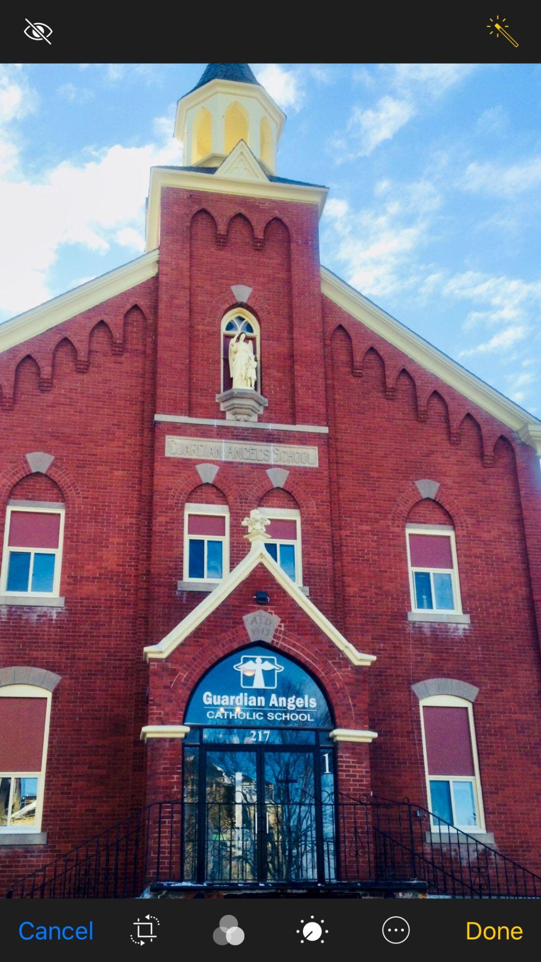 Faithful Beginnings at Guardian Angels - School