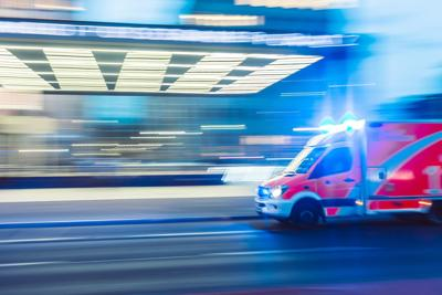 Ambulance lights