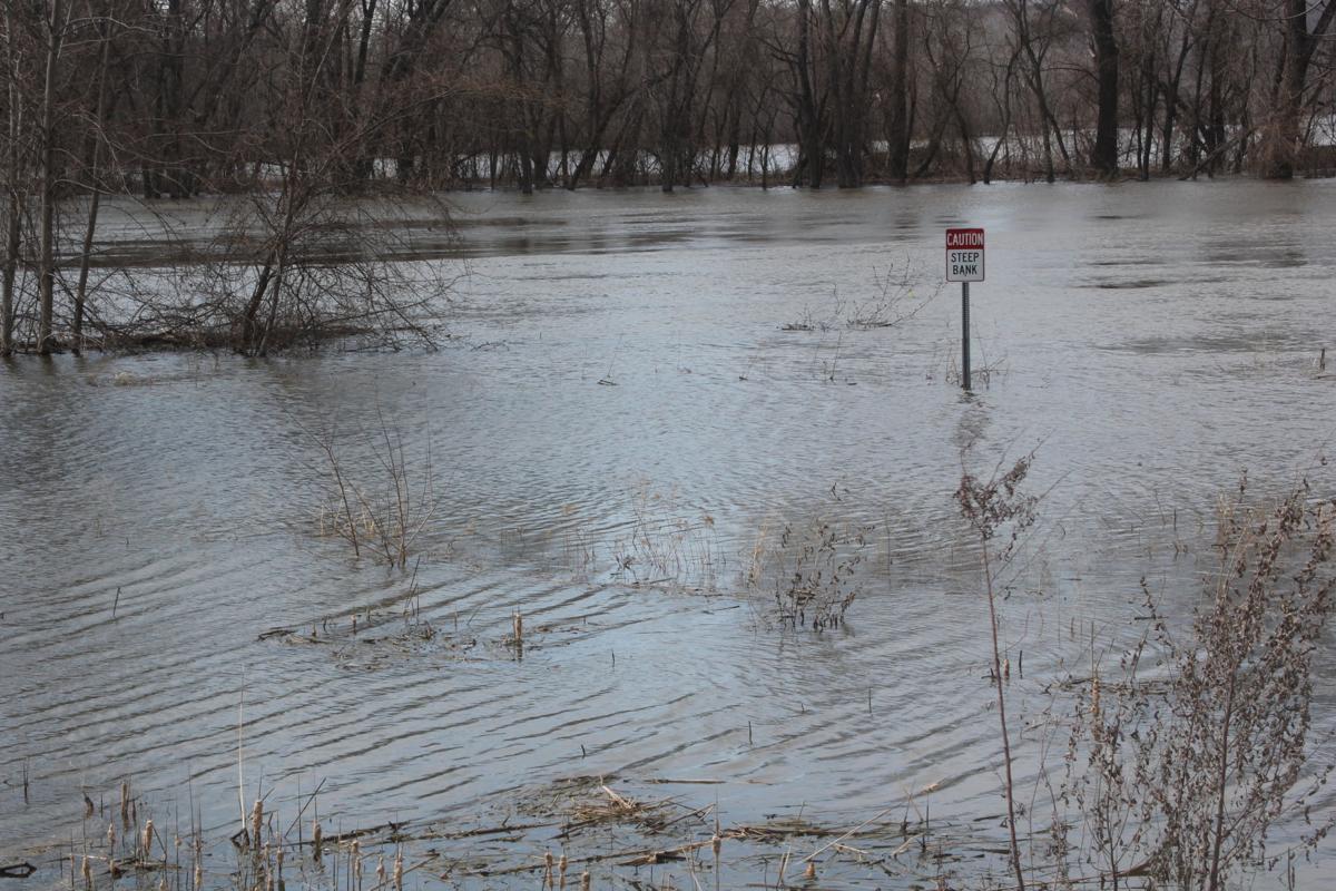 Huber Park flooding