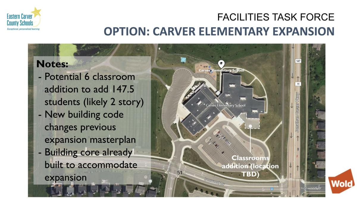 Carver Elementary addition