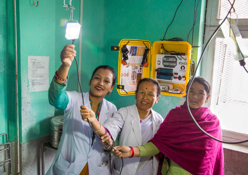 Midwives in Nepal