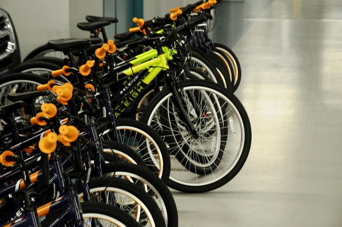 Donated bikes 1