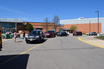 School lunch line EPHS