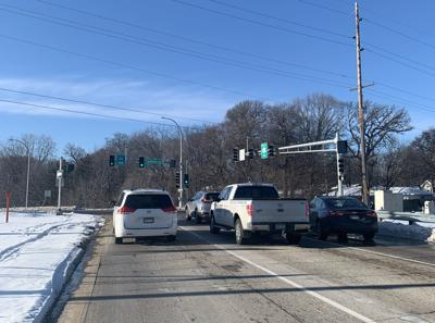 Central Avenue/County Road 101 stoplight wayzata