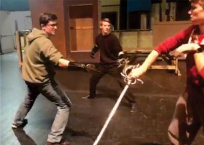 'Three Musketeers'