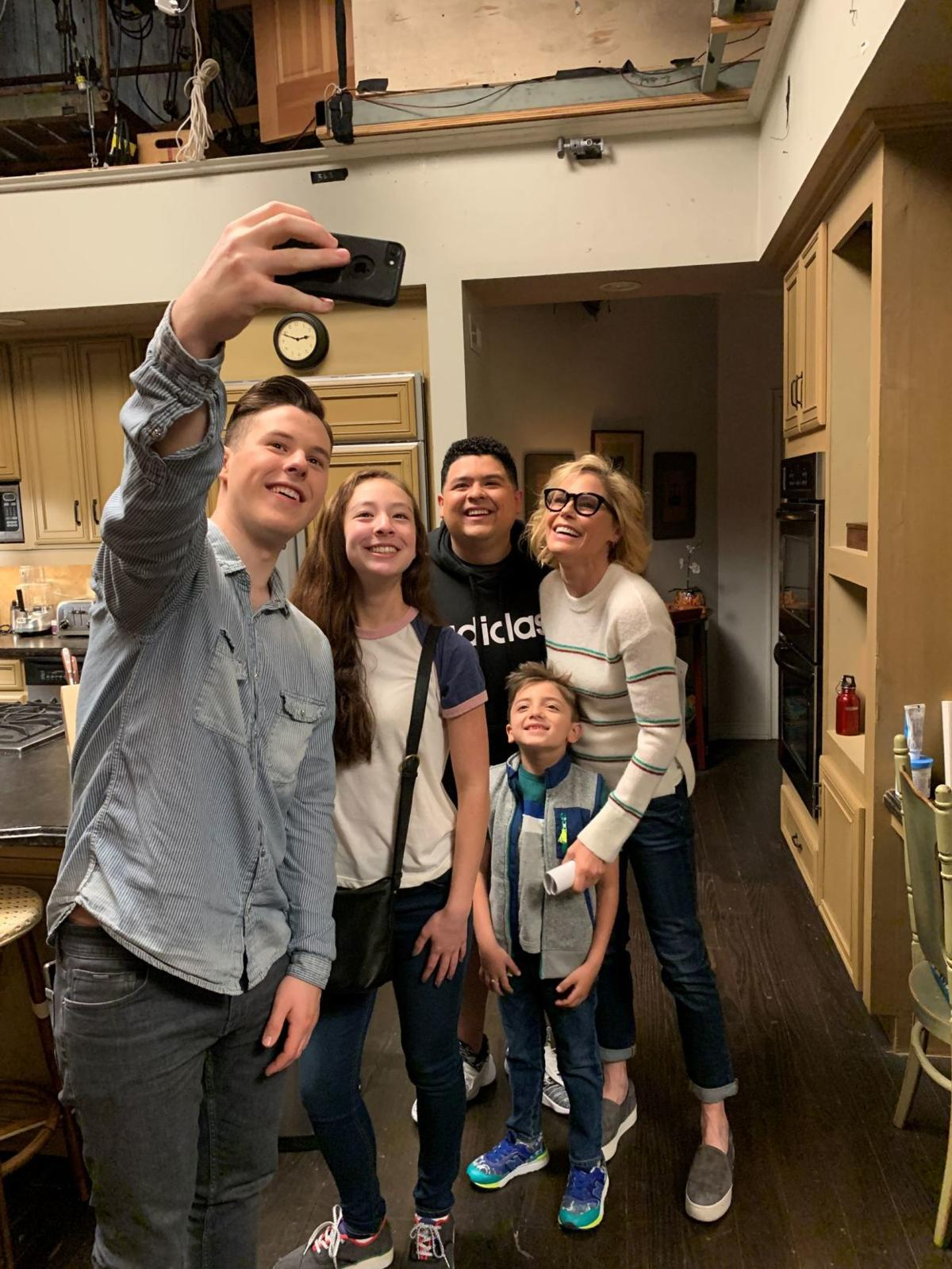 A Modern Family that's a wrap: they're a modern family (copy) | chanhassen