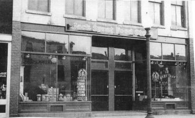 Jack Sprat Food Store in 1935