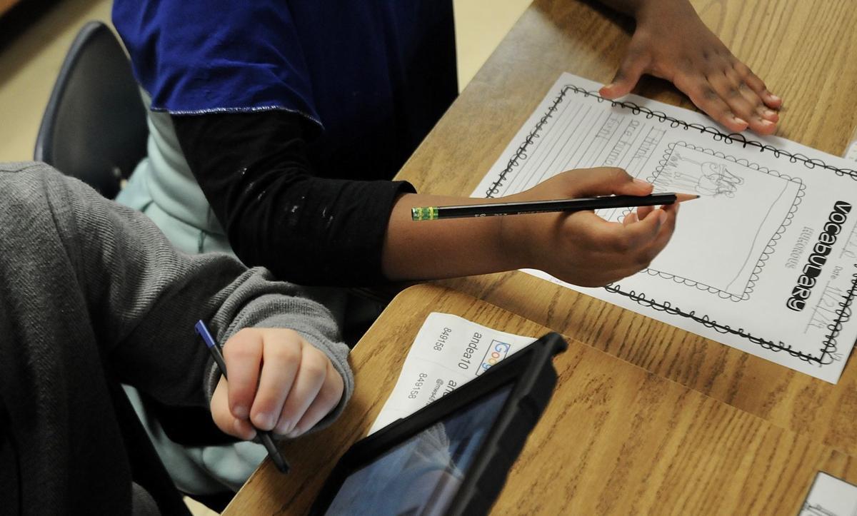 Children reading & writing