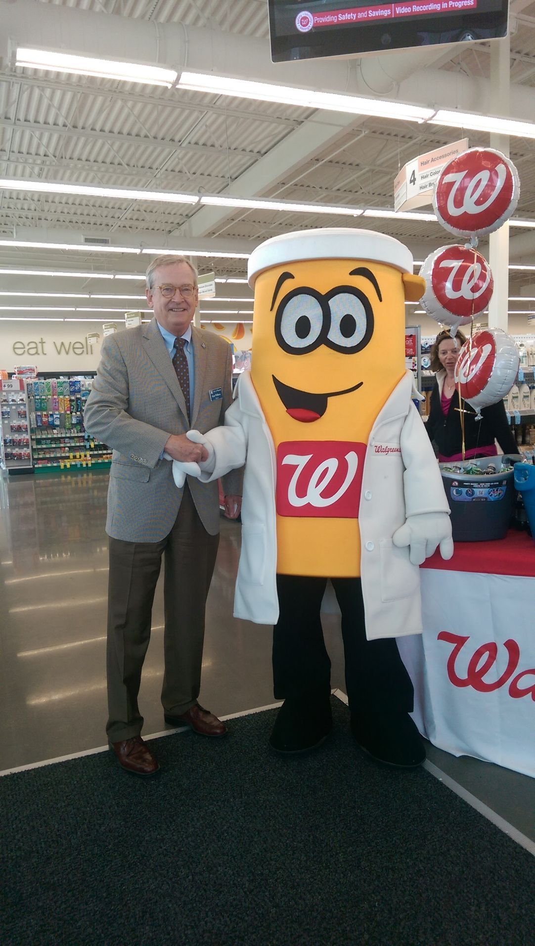 Welcome Wally!  Walgreens Resume Paper