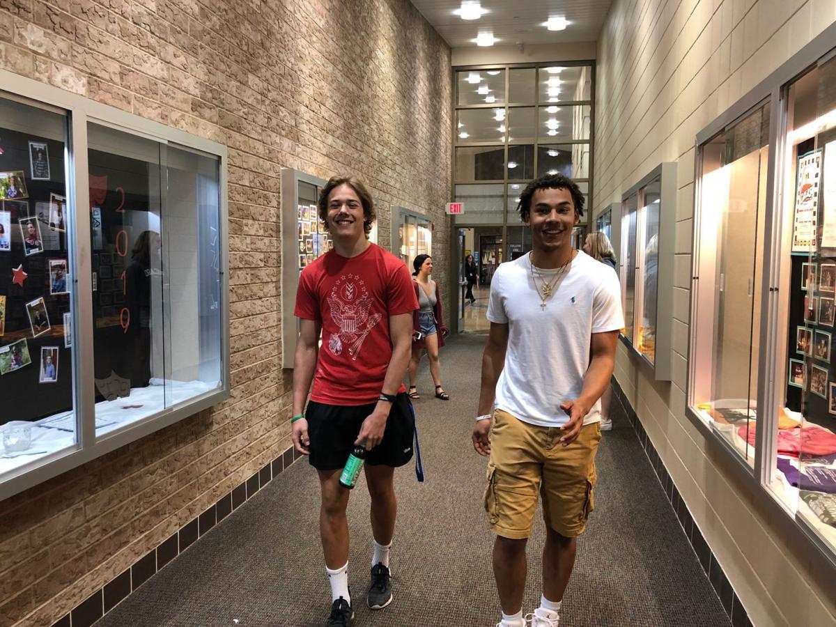 SHS boys in hallway