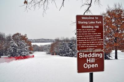 Staring Lake Sledding Hill