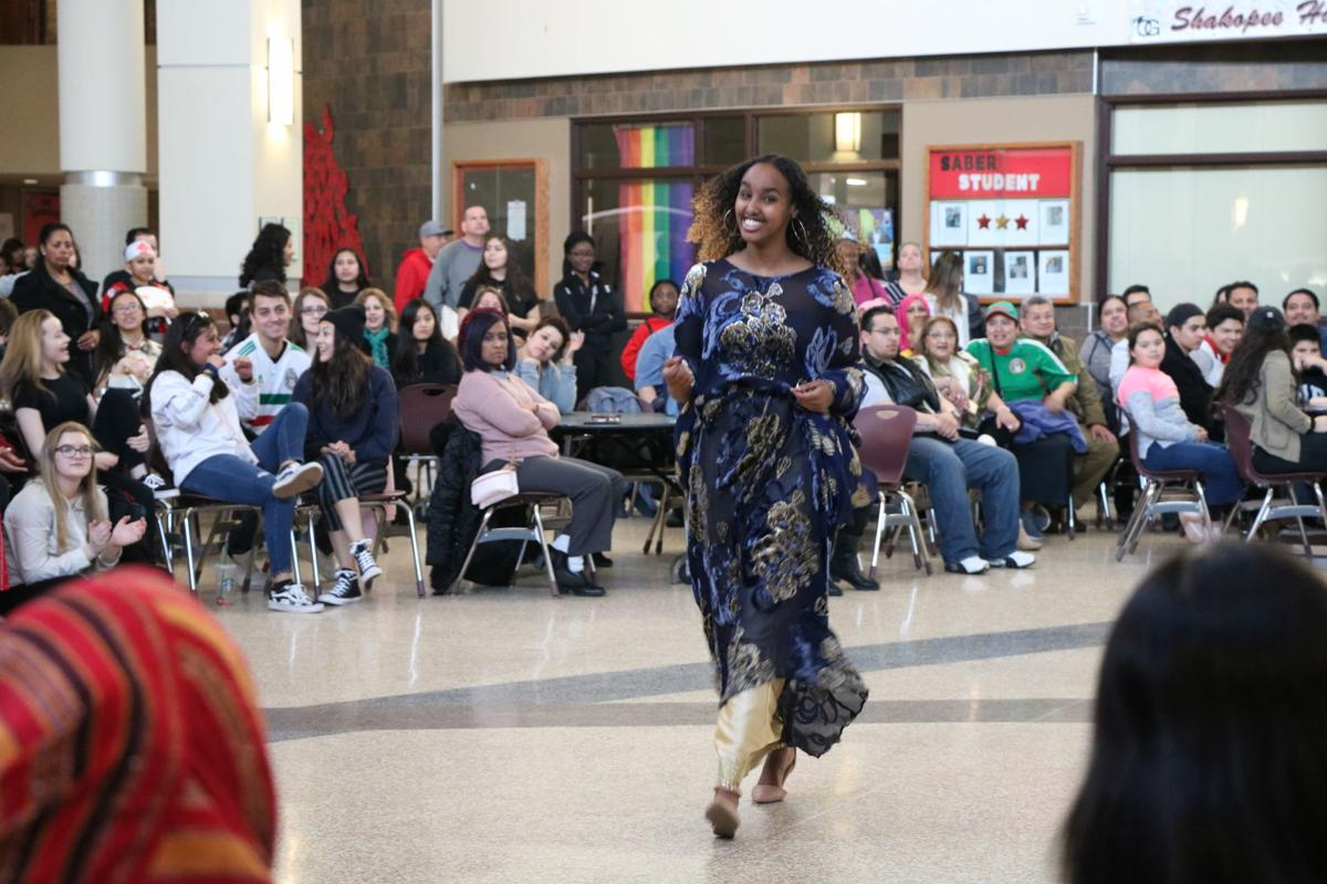 SHS Culture Fest fashion show walker