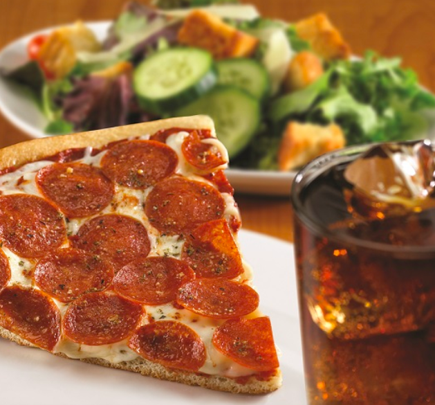 Green Mill Restaurant - pizza