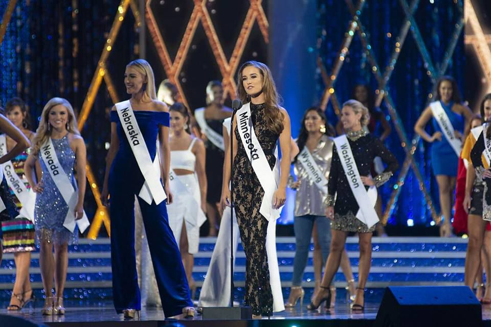 Miss Minnesota at Miss America