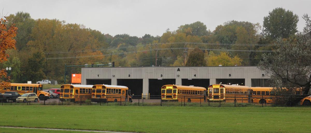 Buses come home