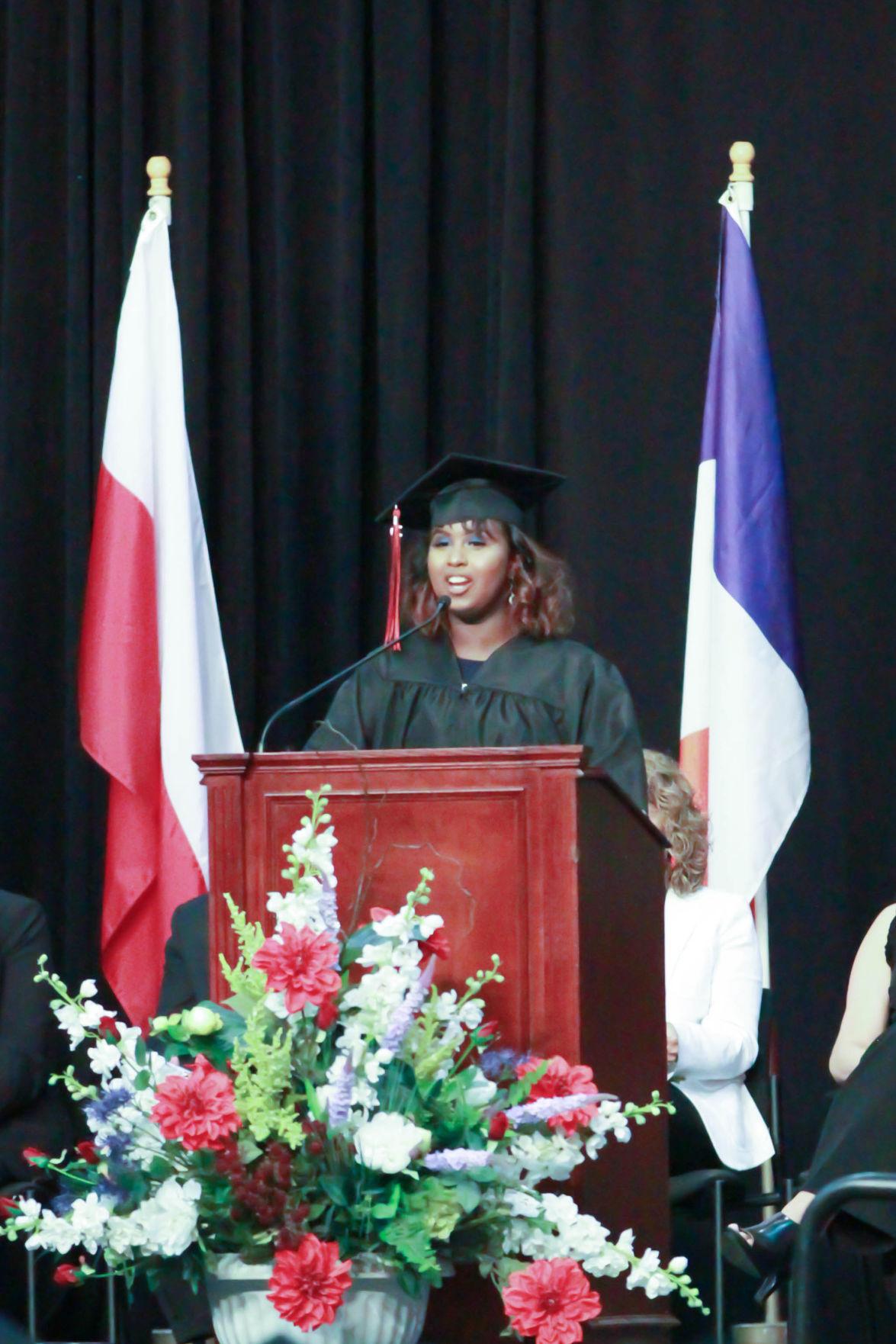 EPHS Student Emcee Muna Galbayte