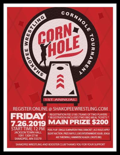 Shakopee wrestling cornhole