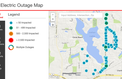 Power outage affects over 1,000 customers in Lotus Lake area, Xcel ...