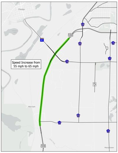 Highway 169 speed limit changes