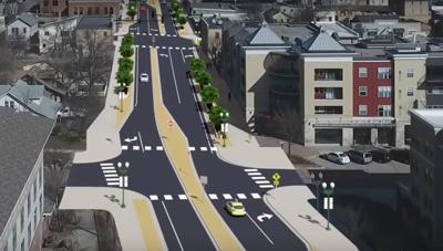 Downtown Chaska rendering
