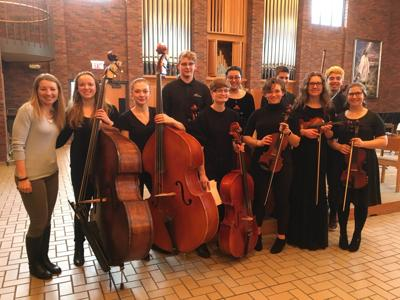 Augusburg Honor Orchestra students from Hopkins
