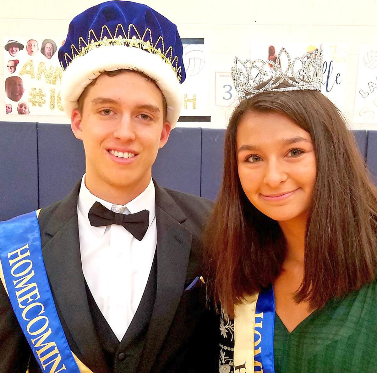 Homecoming King King and Queen Queen