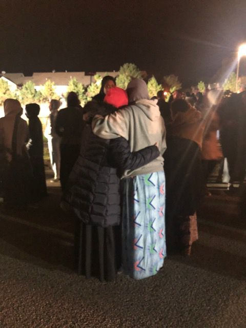Women hug - missing shakopee women
