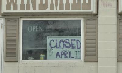 'Closed' sign