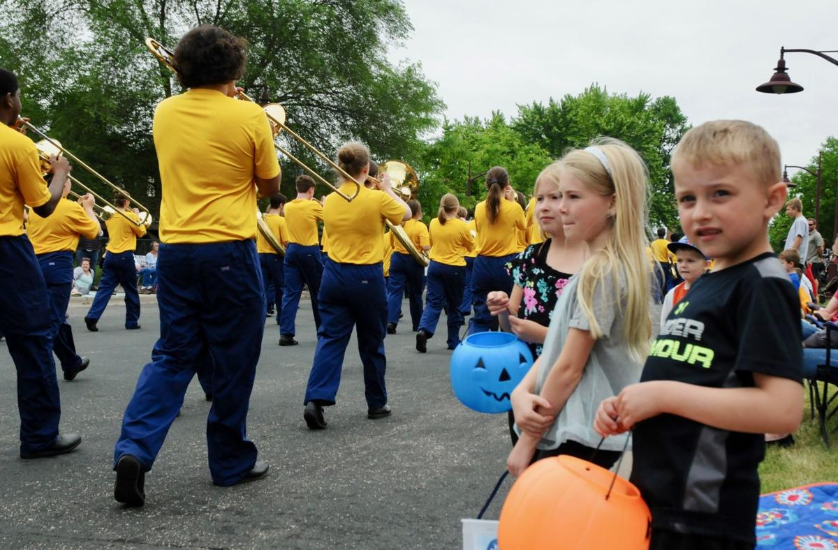 PLHS marching band during parade